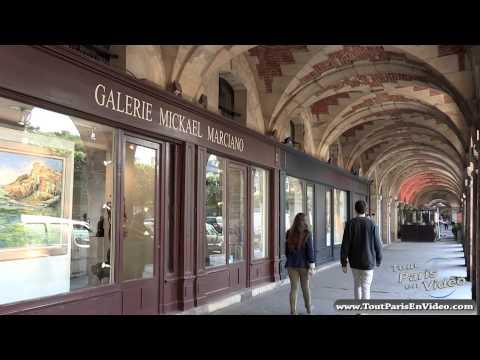 Paris, Place des Vosges (Full HD)