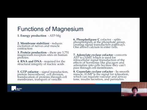 Therapeutic Magnesium is a ReDox Miracle  – Carolyn Dean, MD, ND