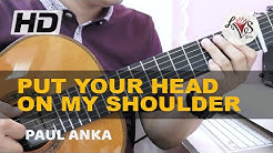 Put Your Head On My Shoulder - Paul Anka (solo guitar cover)