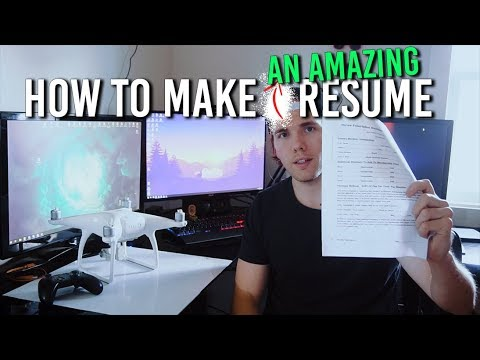 How To Make An AMAZING Programming Resume