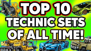 Top 10 Largest LEGO Technic Sets of ALL TIME!