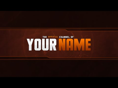 Free YouTube Banner Template (PSD) - YouTube