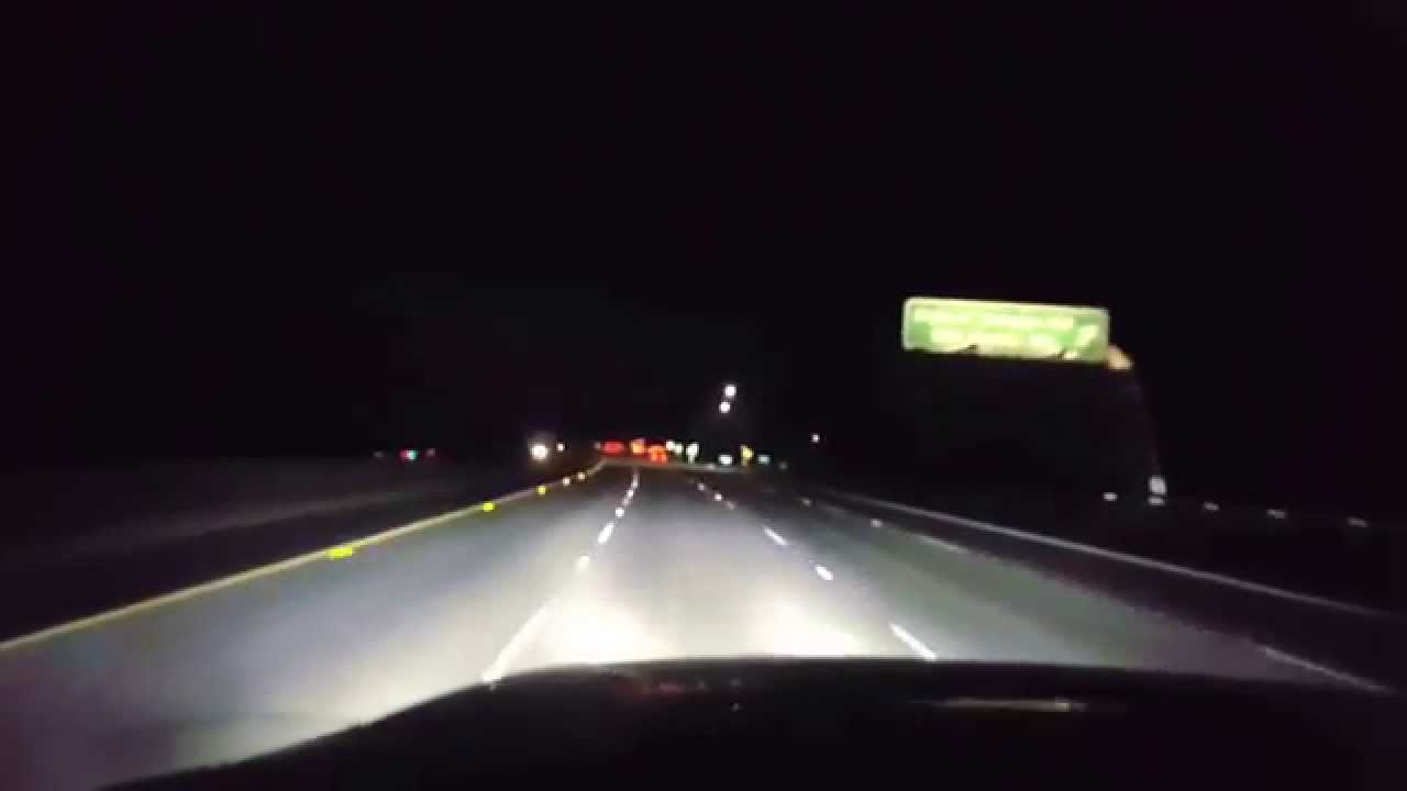 Ford F150 Headlights >> 10000 LUMEN LOW BEAM H13 IN ACTION INSTALLED ON FORD F150 ...