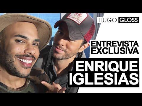 Hugo Gloss entrevista Enrique Iglesias em Miami