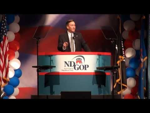 N.D. GOP Convention 2012: Berg accepts NDGOP