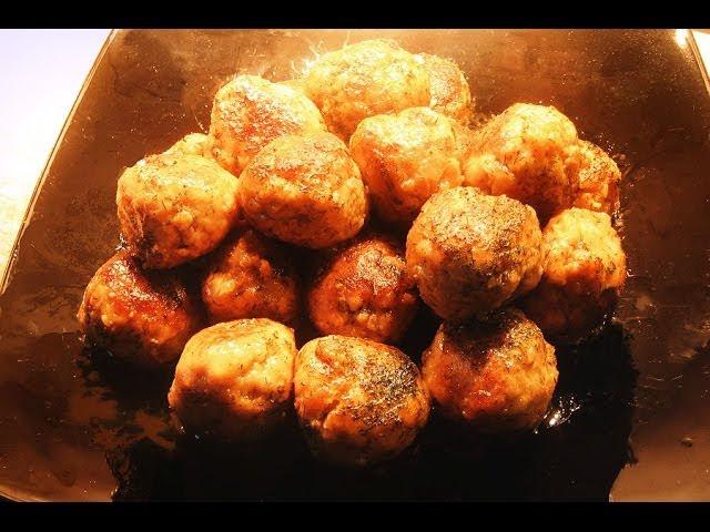 TEFTELI - Russian Chicken & Pork Meatballs * THE REAL RECIPE FROM SCRATCH
