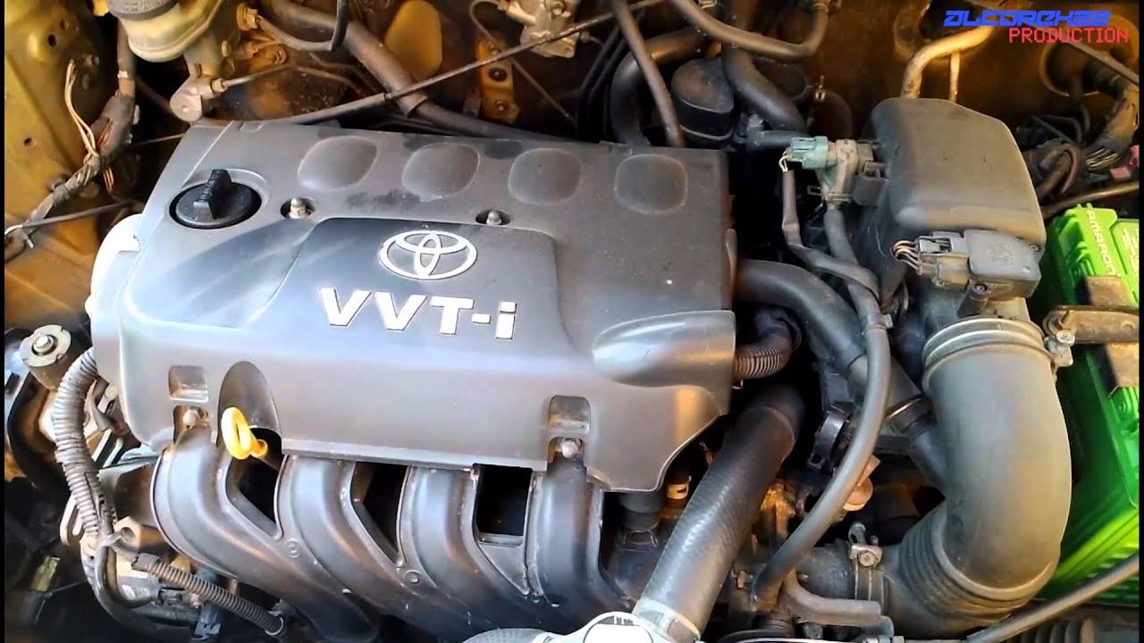 Toyota 2NZFE Engine View  YouTube