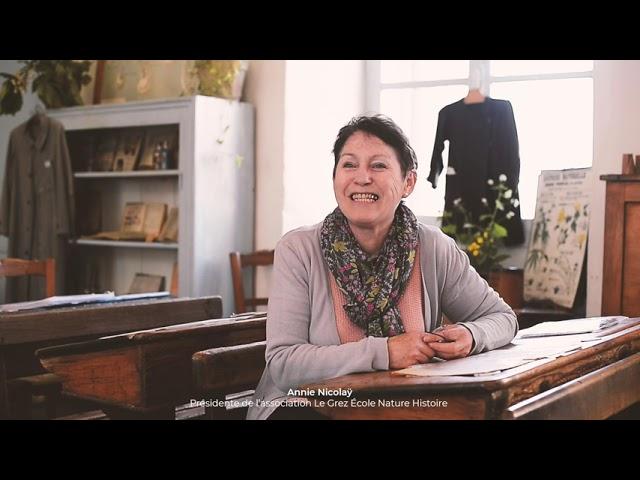 [VIDÉO] L'École d'Autrefois : Rencontre avec Annie Nicolaÿ