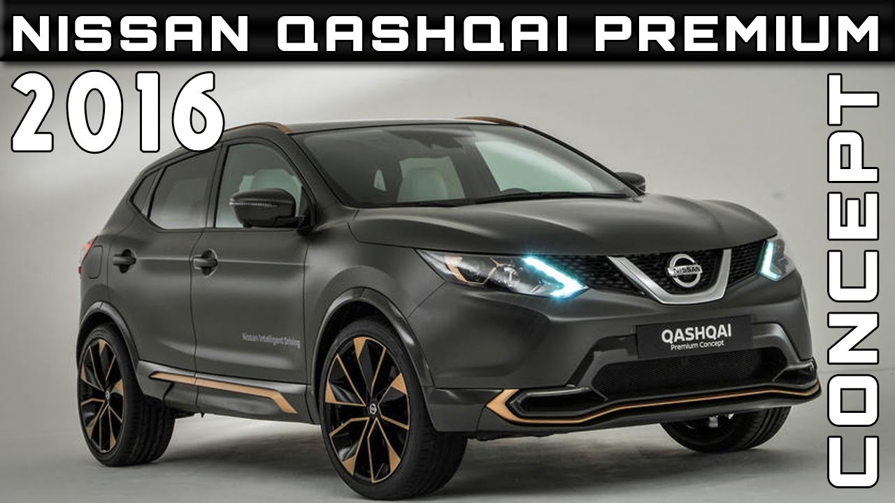 2017 Nissan Qashqai Premium Concept Review Rendered Price Specs Release Date