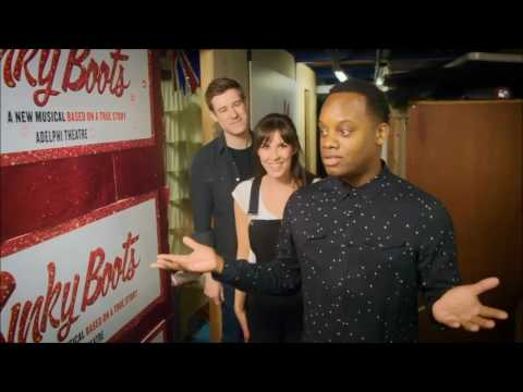 Kinky Boots -  New cast members | Backstage tour of Adelphi Theatre!