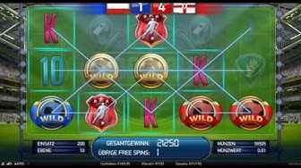 Football Champions Cup Slot (Netent) - Freespin Feature - Big Win