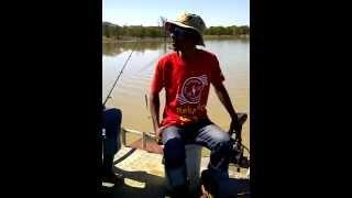 Letsibogo Dam - Pontoon Boat Fishing