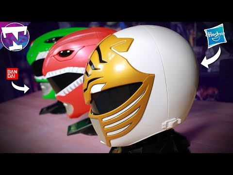 Hasbro White Ranger Helmet | Better Than Bandai?