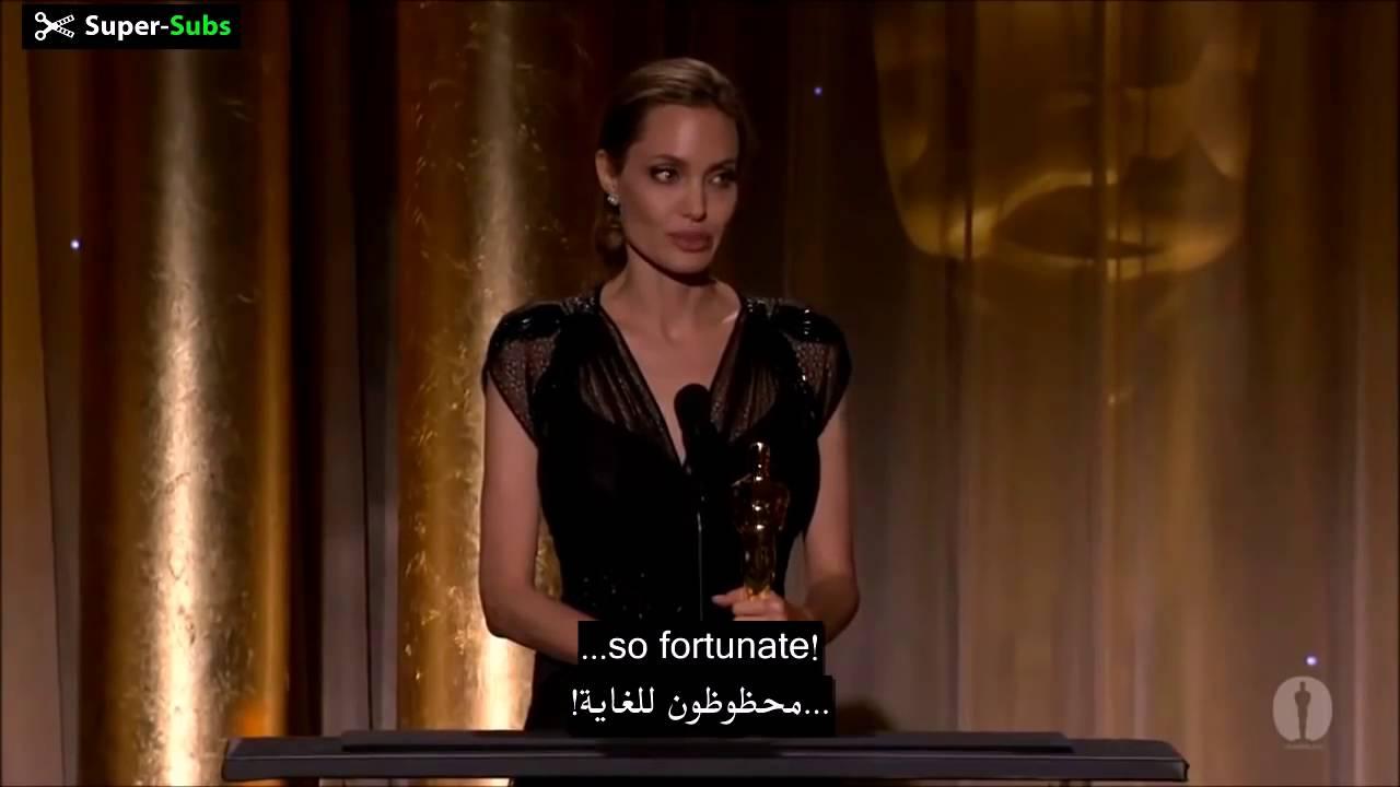 انجيلنا جولى فيديو مترجم احكم بنفسك Angelina Jolie