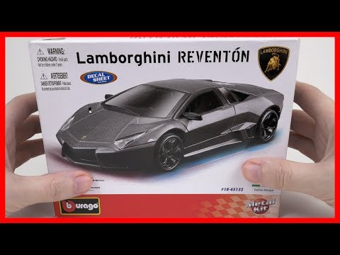 Car Lamborghini REVENTON. Toy Car for kids. Bburago. Diecast. Scale 1/24. Kids Car.