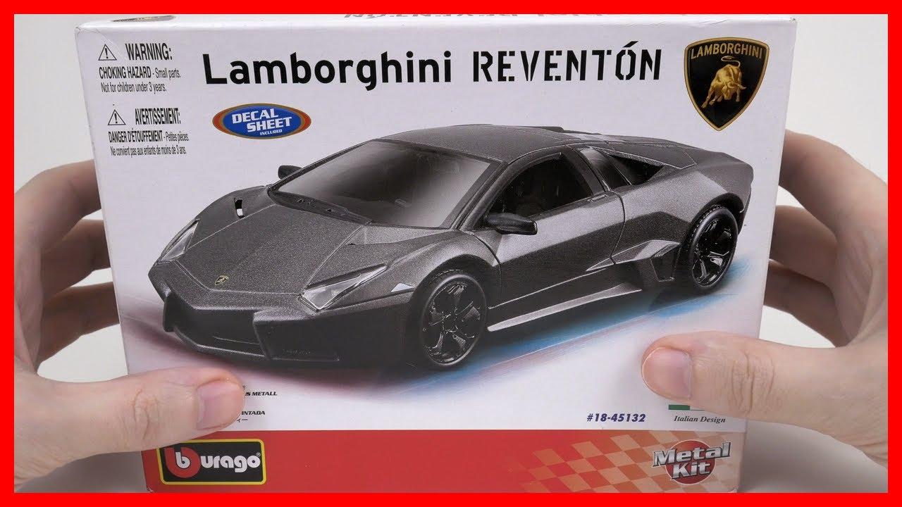 Car Lamborghini Reventon Toy Car For Kids Bburago Diecast Scale