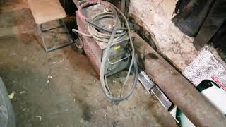 Отопление для гаража на скорую руку из подручных материалов.