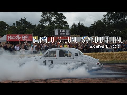 Burnouts, donuts and drifting at CarFest North - 2018