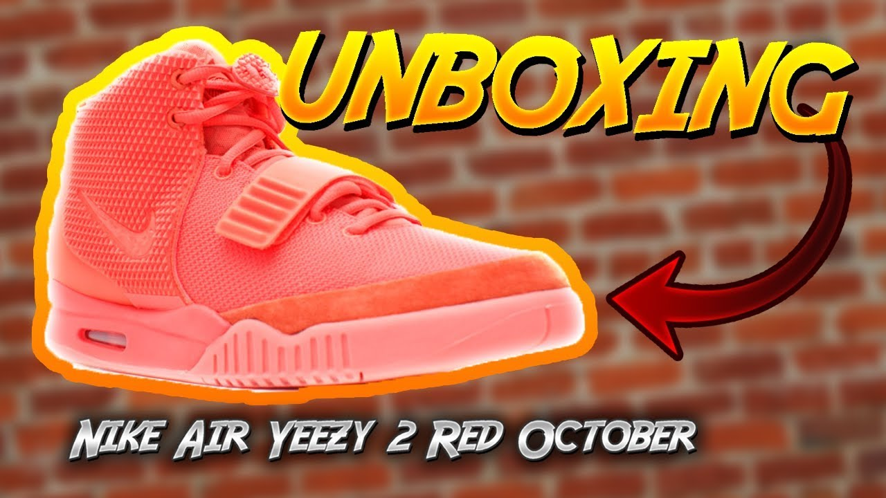 NIKE AIR YEEZY 2 RED OCTOBER UNBOXING AND REVIEW