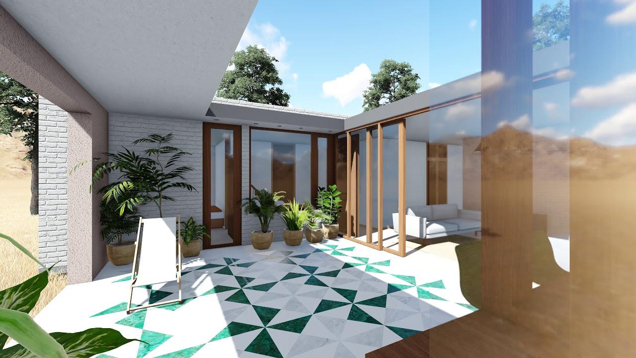 casa patio interior