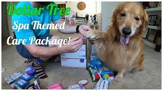 Dollar Tree Spa Themed Military Care Package | Oshies World