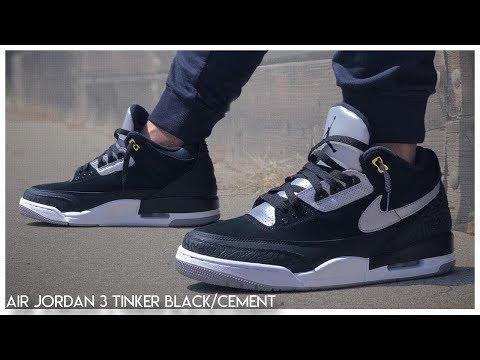 jordan air 3 black cement