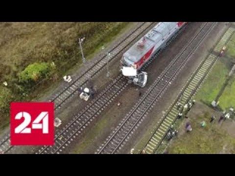 Из-за аварии под Владимиром задерживаются поезда и электрички - Россия 24