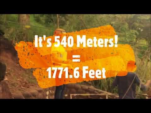 540 Meter Zipline