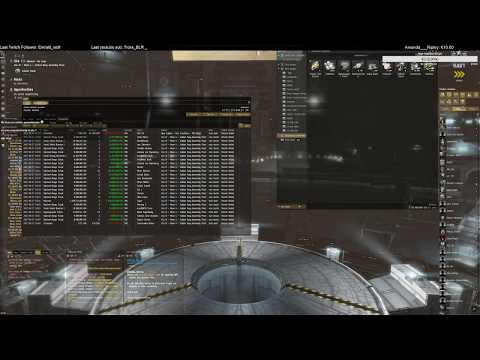 eve online: life of a Industrial : market and production 27-8-2017