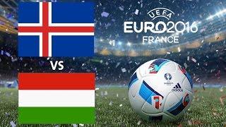 Izland - Magyarország | EURO2016 | FIFA