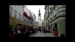 Old Town of Bratislava Slovakia ブラティスラバ旧市内2013年9月9日
