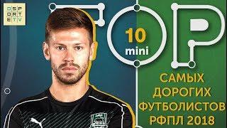 Мини-ТОП-10 самых дорогих футболистов РФПЛ