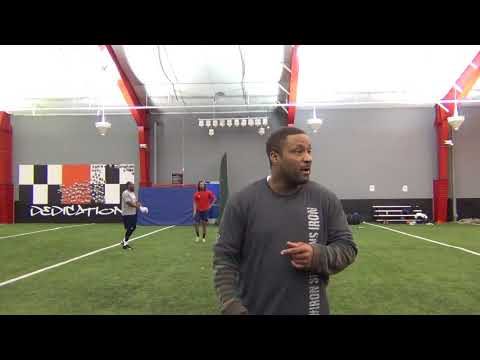 VIP Sports Management | Andre Rison Teaching Route-Running Fundamentals