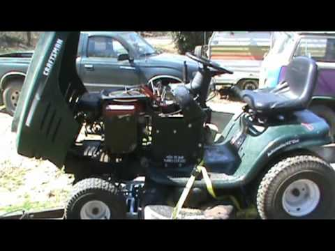 how to repair a craftsman lawn mower