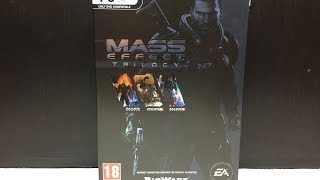 Mass Effect Trilogy (PC DVD) Unboxing