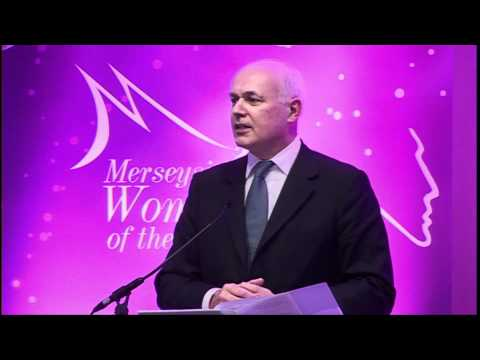 Iain Duncan Smith Secretary of State for work and Pensions at Merseyside Women of the Year 2012
