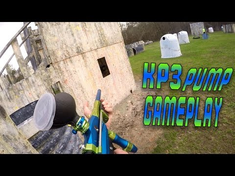 Angier NC Black River Paintball Fort Kp3 Pump GamePlay