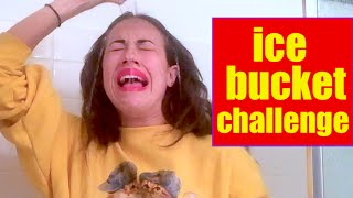 ICE BUCKET CHALLENGE! Miranda Sings