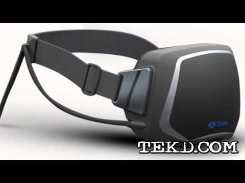 The Oculus Rift 3D Stereoscopic Virtual Reality Gaming Headset