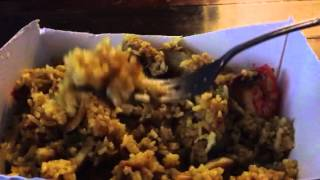 "Asmr (eating) # 6: ""thai Pineapple Fried Rice"""