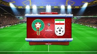 Morocco vs Iran | FIFA World Cup 2018 Russia | Full Match | Pes Gameplay PC