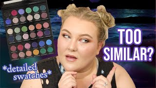How Similar Are They REALLY?! Sydney Grace x Temptalia Palettes: Detailed Swatches + Comparisons