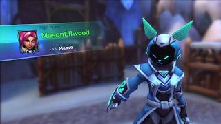 Rolled and Smoked, Maeve Top Play in Ranked (Paladins)