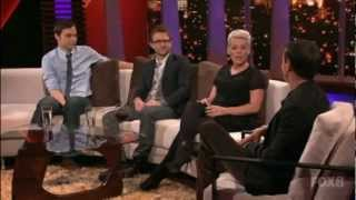 Rove LA 1x09 P!nk, Jim Parsons and Chris Hardwick 1/5