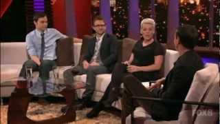 Rove LA 1x09 P!nk, Jim Parsons and Chris Hardwick 1/5