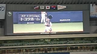 2012.7.28 中日ドラゴンズ×東京ヤクルトスワローズ ~ナゴヤドーム 升毅...