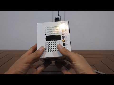 Unboxing Shutter Precision SP PD-8 24H JY-001 - dynamo hub - Nabendynamo