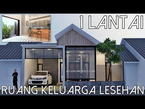 Rumah 1 lantai dg Ruang Keluarga Lesehan - Lahan 9x12m