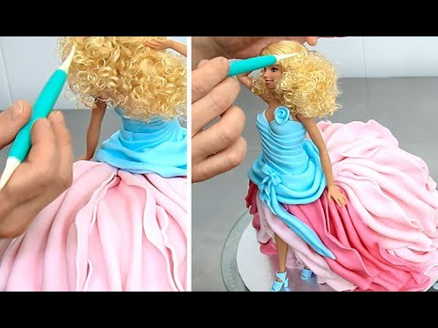 Thumbnail: Barbie Fashion Doll Cake How To Make by Cakes StepbyStep