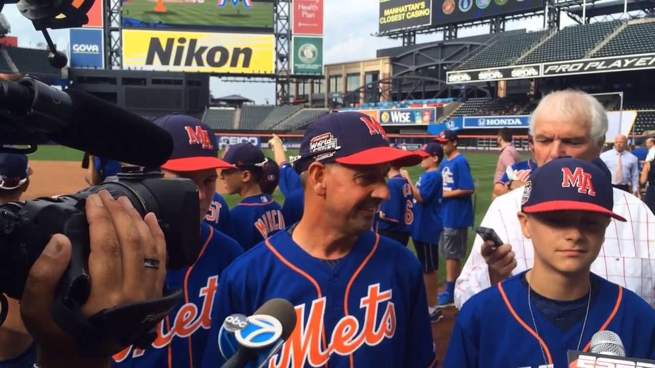 Mets host Little League World Series Champions